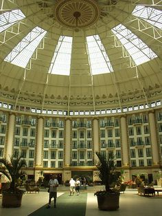 West Baden Springs Hotel in Indiana - Wow!