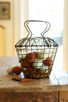 Farm-fresh eggs are the best!