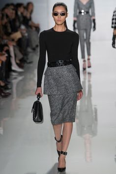 Michael Kors Fall 2013: Grey's - work attire