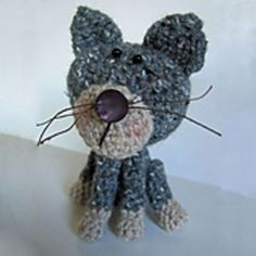 Peter Pussy Cat, by Sharon Goodwin  Free pdf download Ravelry