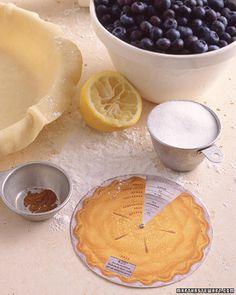 martha stewart printable fruit pie filling wheel - the link takes you straight to the PDF