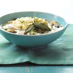 Sage Chicken Dumpling Soup
