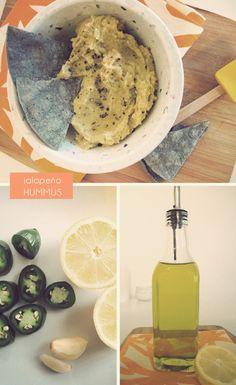 Jalapeno Hummus Recipe- So trying this!!
