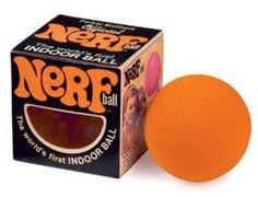 NERF: Non-Expanding Recreational Foam;