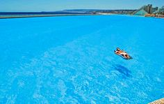 Worlds largest swimming pool in Chile