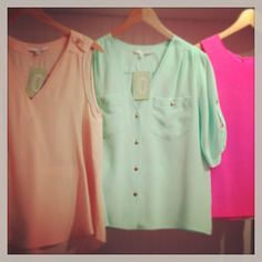 Happiness is...@Amanda Uprichard silk tops!