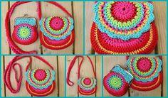 gehaakt tasj, haken, petit fee, crochet bags, face paintings, crochetbag, crocheted bags, crochet purses, crocheted purses