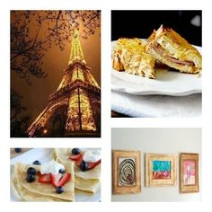 Let's Go to Paris! French-themed Crafts and Recipes