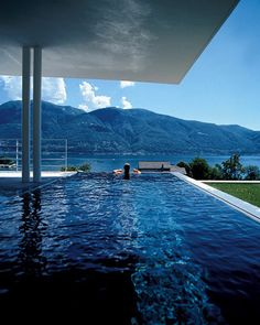 Pool with a Mountain View