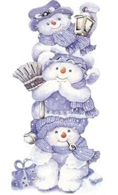 snowmen art-cute!