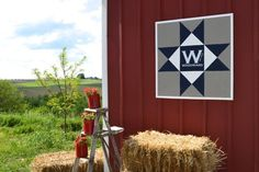 How to create a modern barn quilt - Newly Woodwards