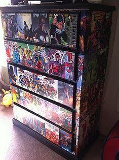 Comic Book Decoupage