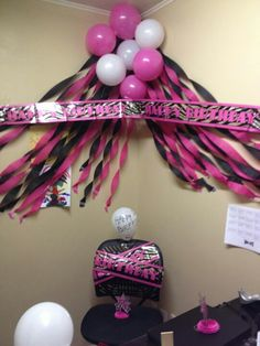 Co worker b day on pinterest office birthday decorate for 50th birthday decoration ideas for office
