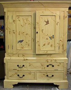 Murals & Faux Finishing - Tips, Advice, and Ideas: Hand Painted Furniture