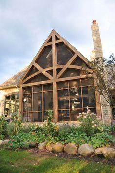 Schumacher Homes Normandie screened porch by Schumacher Homes, via Flickr