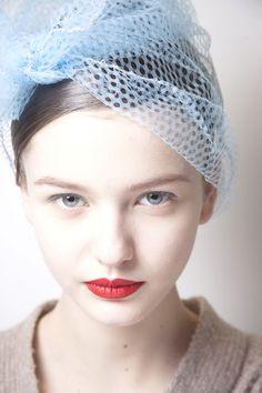 Model: Kristina Romanova - for Jil Sander