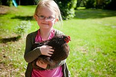 Daisy holding Betty Chicken :)