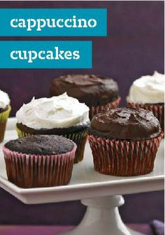 cappuccino cupcakes learn how to make this yummy cupcake recipe by ...