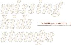 Missing Kids Stamps
