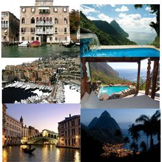 Vacation Dreaming: Venice AND-OR St. Lucia, Baby!!!
