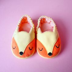 Baby Booties - The Fantastic Fox 03