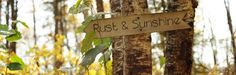 rust and sunshine (lots of kid friendly ideas)