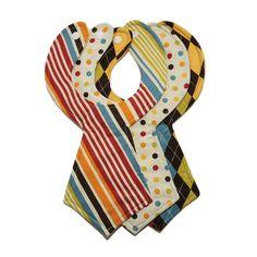 For boardroom babies: necktie bibs.