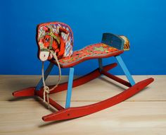Child's Vintage Rocking Horse