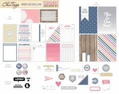 Chic Tags - Exclusive Kit - February 2014