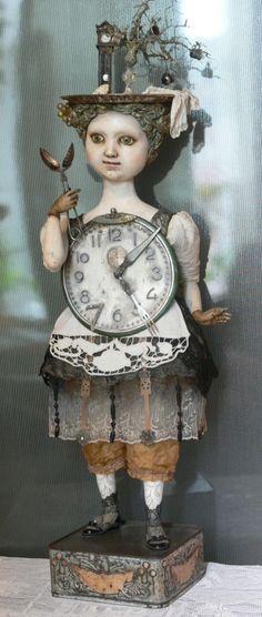 Beautiful doll on a Russian blog