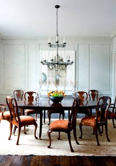 Dise o interior decoraci n on pinterest mesas shabby for Comedores redondos elegantes