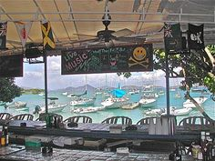 Enjoy this view from The Beach #Bar, St John