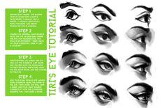 Eye Tutorial by Tirisias.deviantart.com on @deviantART
