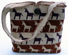 Tapestry Crochet: Horse Around Purse