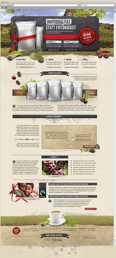 http://www.labelmycoffee.com/ Logodesign & Webdesign: Label my Coffee by Rene Kohnen, via Behance webdesign, galleries, site design, web design, behance, coffee, behanc network, design inspir, label