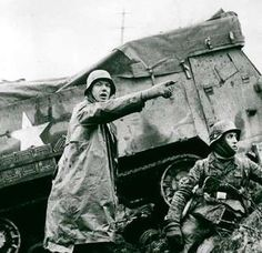 The Battle of the Bulge.