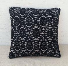 16x16 ORGANIC Modern Bohemian Home DecorBlack  by pillowsstore, $31.00