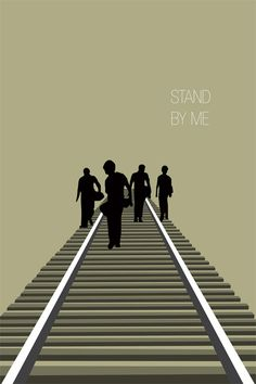 Stand By Me #minimal #movie #poster
