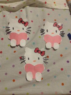 DIY Hello kitty valentines