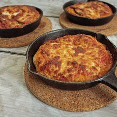 Individual Skillet Pizzas