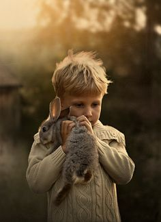 animals, peter rabbit, children, son, beauti thing, easter bunny, friend, photographi, kid