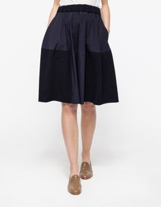 Patched Flight Skirt