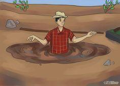 How to escape quicksand: