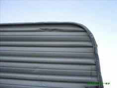 Video help on restoring water damage in campers.
