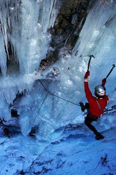 #climbing #iceclimbing