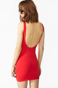 Runaways Dress in Red