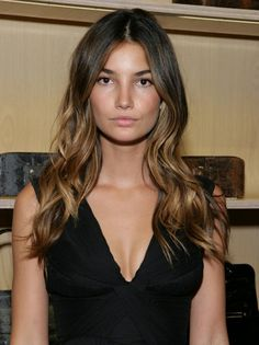 Perfectly Sun-Kissed Hair for a Brunette
