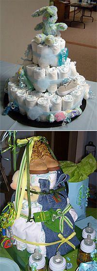 baby shower cakes love the John Deer idea!