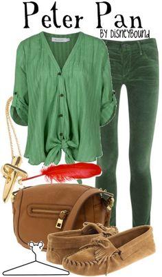 Peter Pan outfit :)