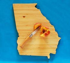AHeirloom's Georgia State Cutting Board by AHeirloom on Etsy